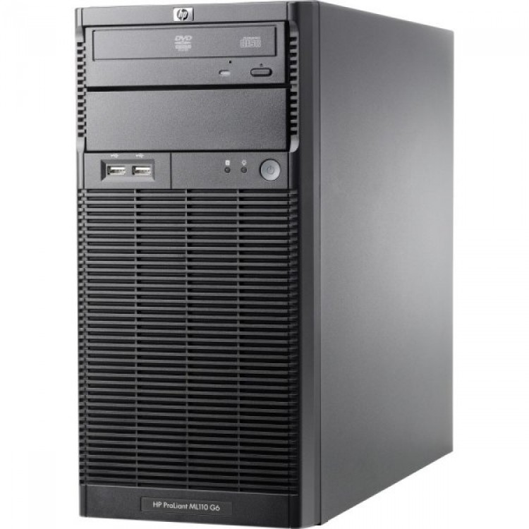 Imagine indisponibila pentru Server HP ProLiant ML110 G6 Tower, Intel Xeon Quad Core X3430 2.40GHz, 8GB DDR3, 2 x 2TB SATA, DVD-ROM, PSU 300W