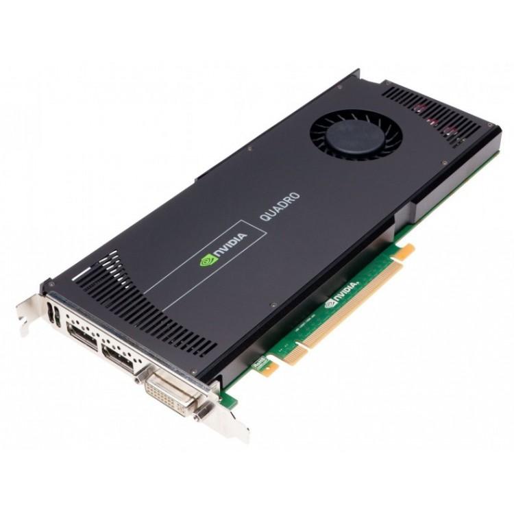 Placa video nVidia Quadro 4000, 2 GB GDDR5 256-bit, 1x DVI, 2x DisplayPort, PCI Express x16