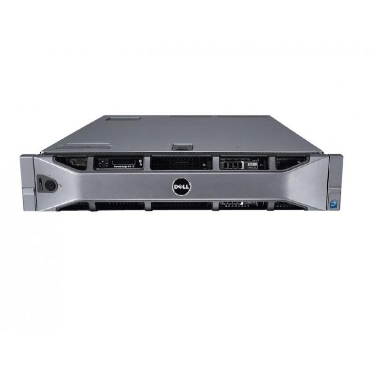 server dell poweredge r710, 2x intel xeon processor hexa core x5650 , 2.66ghz - 3.06ghz, 16gb ddr3 ecc, 2x 146gb sas, raid perc h700/1gb, idrac 6 express, 2 surse redundante