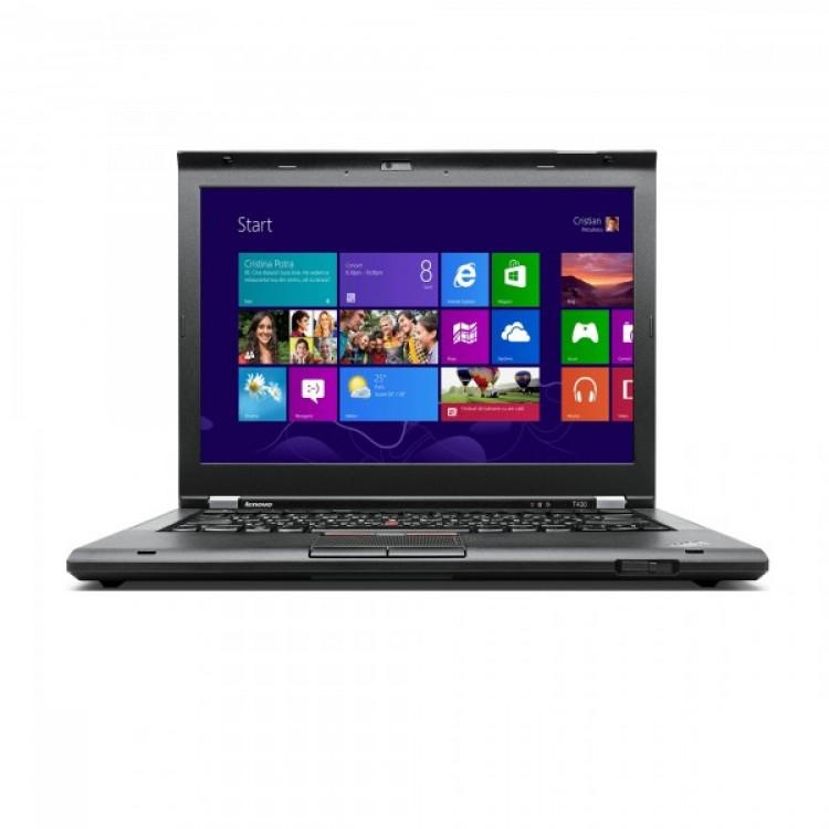 laptop second hand lenovo thinkpad t430, intel core i5-3320m 2.6ghz, 8gb ddr3, 128gb ssd, 1600x900