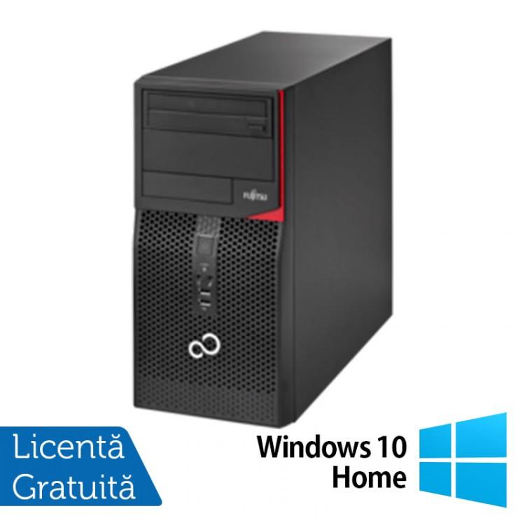 Fujitsu Siemens Esprimo P520, Intel Dual Core G3440, 3.3GHz, 4GB DDR3, 250GB SATA, DVD-ROM + Windows 10 Home
