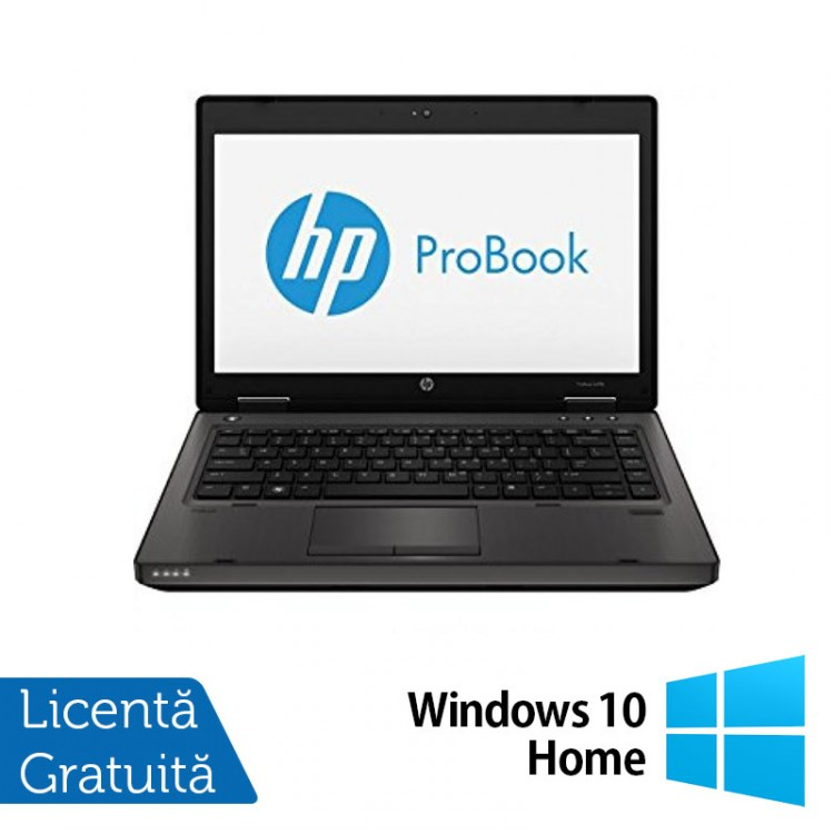 Laptop Refurbished HP ProBook 6470B, Intel Core i5-3230M 2.60GHz, 4GB DDR3, 120GB SSD, DVD-RW, Webcam + Windows 10 Home