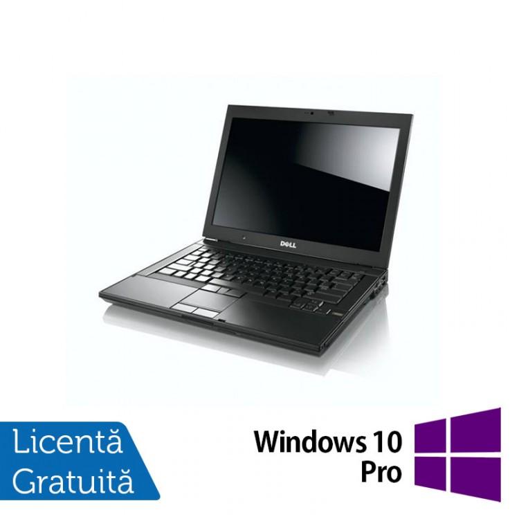 Laptop Refurbished Dell E6410, Intel Core i5-560M, 2.67GHz, 4GB DDR3, 320GB SATA, DVD-RW, 14 inch LCD + Windows 10 Pro