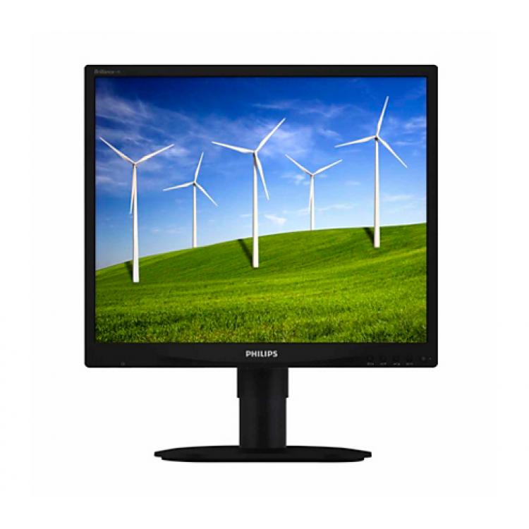 Monitor PHILIPS 190S, LCD, 19 inch, 1280 x 1024, VGA, DVI, Grad A-