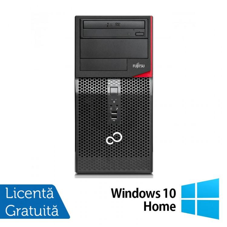 Calculator FUJITSU SIEMENS P410, Intel Core i3-3220 3.30GHz, 8GB DDR3, 500GB SATA, DVD-RW + Windows 10 Home