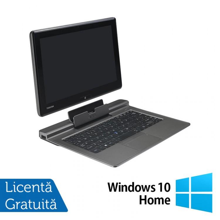 Laptop Refurbished Toshiba Portege Z10T-A-13K, Intel Core i5-4220Y 1.60GHz, 4GB DDR3, 128GB SSD, 11.6 inch, Full HD, Touchscreen + Windows 10 Home