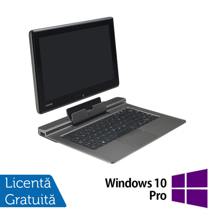Laptop Refurbished Toshiba Portege Z10T-A-13K, Intel Core i5-4220Y 1.60GHz, 4GB DDR3, 128GB SSD, 11.6 inch, Full HD, Touchscreen + Windows 10 Pro