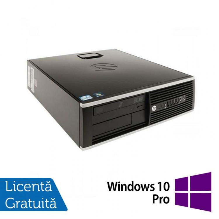 Calculator Refurbished HP 8200 Elite SFF, Intel Core i5-2400 3.10GHz, 4GB DDR3, 250GB SATA, DVD-ROM, Port Serial, Display Port + Windows 10 Pro