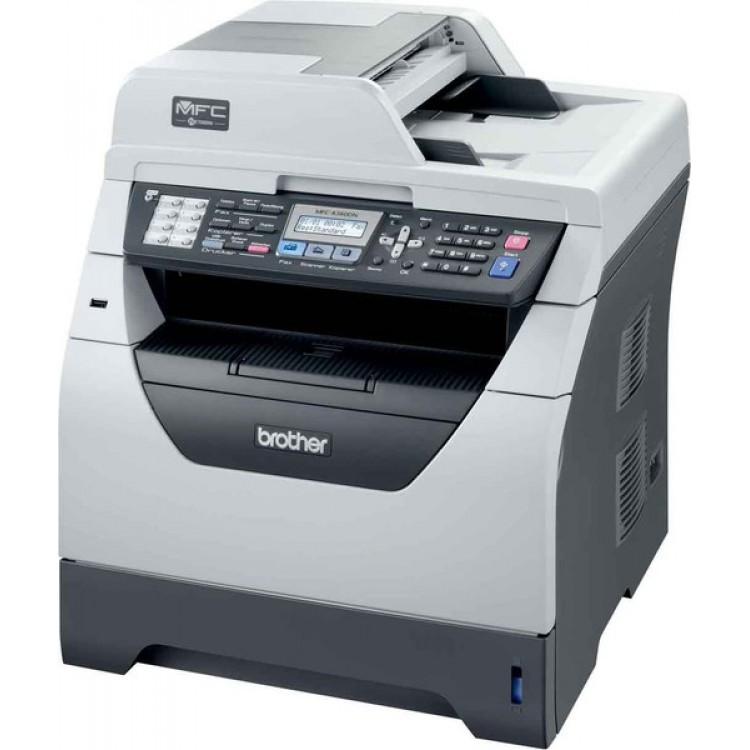 Imprimanta Multifunctionala Brother MFC-8380DN, 30 PPM, 1200 x 1200 DPI , Duplex, Retea, A4, Monocrom, Cartus si Unitate Drum Noi