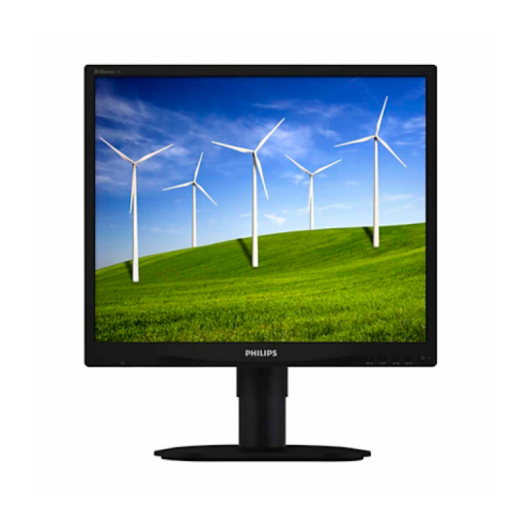Monitor Philips 19B4 LCD, 19 inch, 1280 x 1024, 5 ms, 16.7 milioane, VGA, DVI