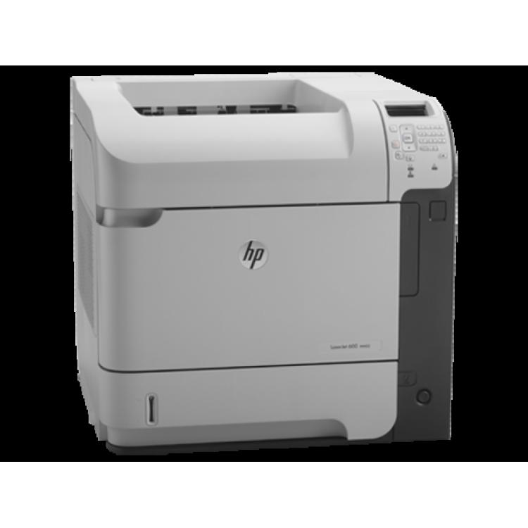 Imprimanta Laser monocrom HP LaserJet 600 M602, A4, 52 ppm, 8.5 sec, 1200 x 1200 Dpi, USB HP + Cartus nou 24 k pagini