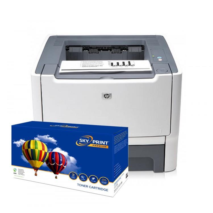 Imprimanta HP 2015D cu cartus nou Q5949x (6000pagini)