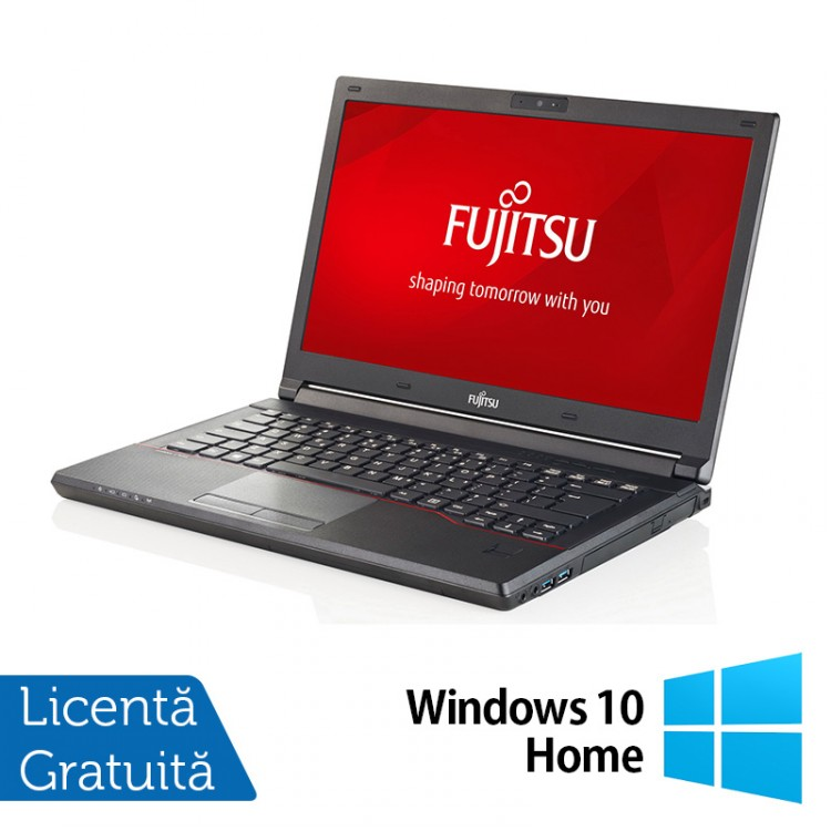 Laptop Refurbished FUJITSU SIEMENS Lifebook E544, Intel Core i5-4210M 2.60GHz, 8GB DDR3, 120GB SSD, 14 Inch + Windows 10 Home