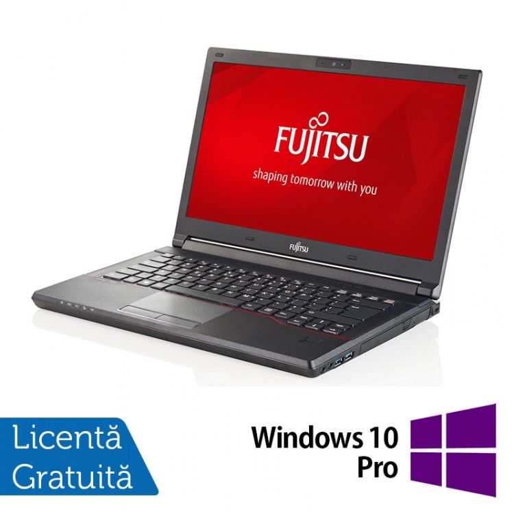 Laptop Refurbished FUJITSU SIEMENS Lifebook E544, Intel Core i5-4210M 2.60GHz, 8GB DDR3, 120GB SSD, 14 Inch + Windows 10 Pro