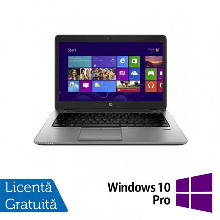 Laptop Refurbished HP EliteBook 820 G1, Intel Core i5-4200U 1.60GHz , 16GB DDR3, 120GB SSD, 12 inch + Windows 10 Pro