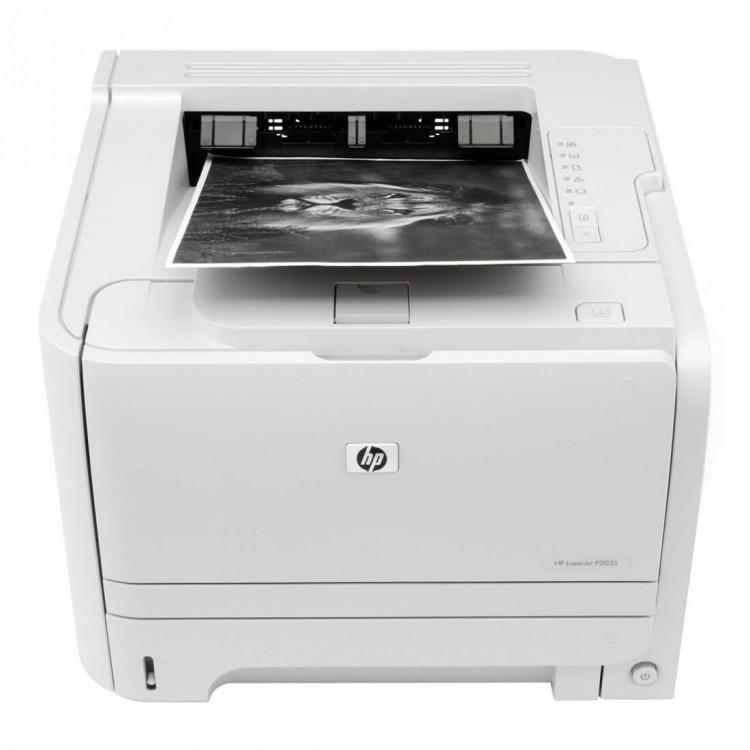 Imprimanta Laser Monocrom Hp LaserJet P2035 Cartus Nou, 35 ppm, USB, Paralel, 1200 x 1200 dpi