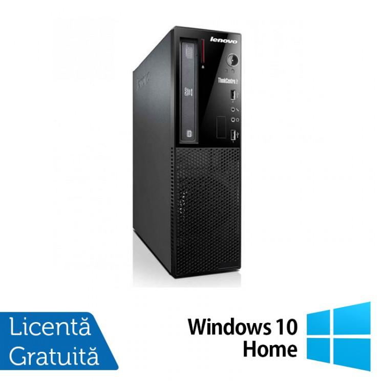 Calculator Lenovo Thinkcentre E73 Desktop, Intel Core i5-4430s 2.70GHz, 4GB DDR3, 500GB SATA, DVD-ROM + Windows 10 Home