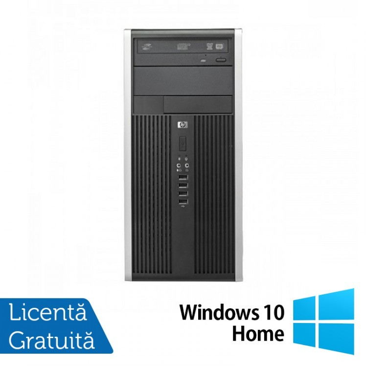 Calculator HP 6300 Tower, Intel Core i5-3470s 2.90GHz, 4GB DDR3, 250GB SATA, DVD-ROM + Windows 10 Home