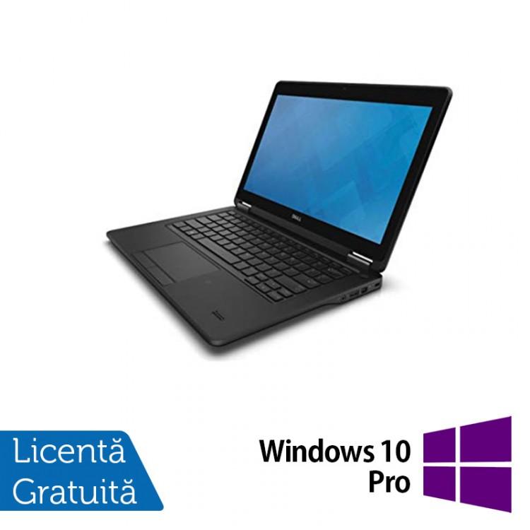 Laptop Dell Latitude E7250, Intel Core i5-5300U 2.30GHz, 8GB DDR3, 120GB SSD, 12 Inch + Windows 10 Pro