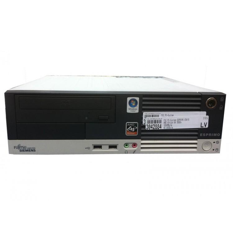 Calculator Fujitsu Esprimo E5615 SFF, Athlon 64 3800+ 2.40GHz, 2GB DDR2, 160GB SATA, DVD-ROM