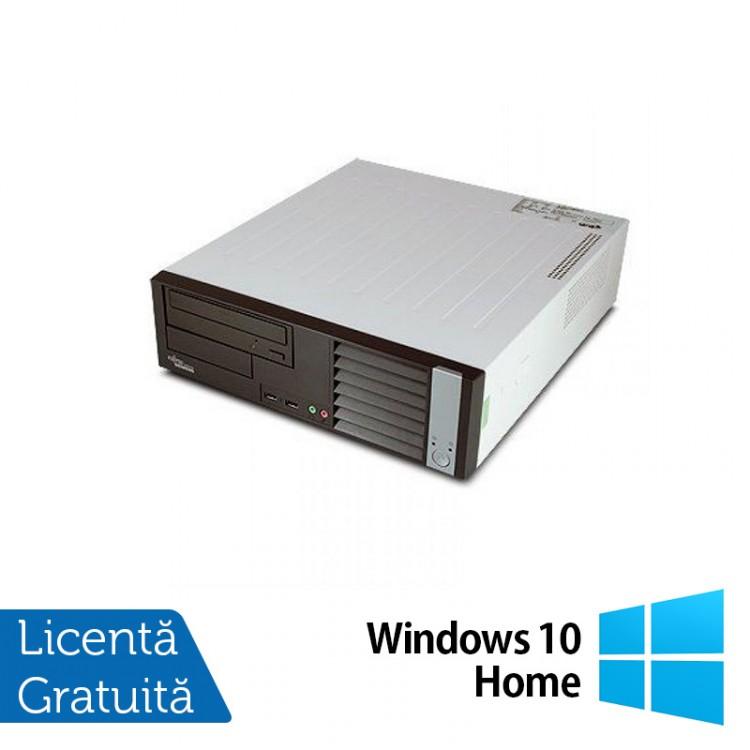 Calculator FUJITSU SIEMENS E5625 Desktop, AMD Athlon Dual Core 64 x2 5600B 2.90 GHz, 4GB DDR2, 160GB SATA, DVD-RW + Windows 10 Home