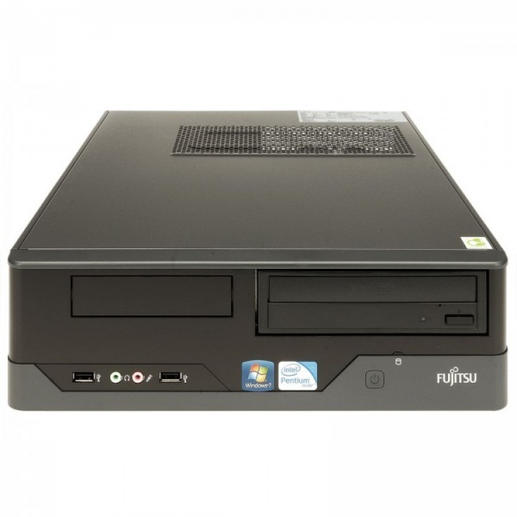 Calculator FUJITSU SIEMENS E400 SFF, Intel Core i3-2100 3.10GHz, 4GB DDR3, 250GB SATA, DVD-ROM
