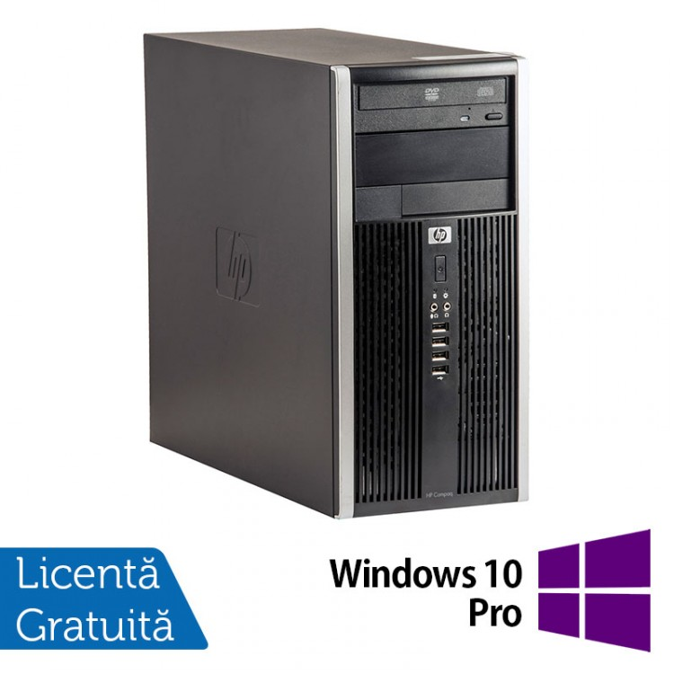 Calculator HP Compaq 6305 Tower, AMD A4-5300B 3.40GHz, 4GB DDR3, 250GB SATA, DVD-ROM + Windows 10 Pro