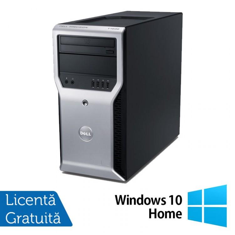 Calculator Dell Precision T1600, Intel Core i3-2100 3.10GHz, 4GB DDR3, 320GB SATA, DVD-ROM + Windows 10 Home