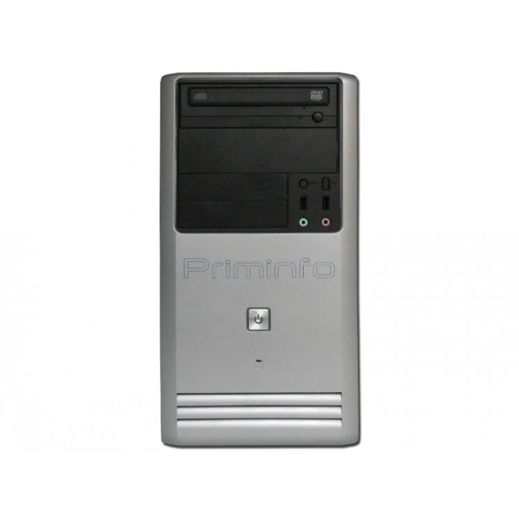 Calculator Priminfo Tower, Intel Core i5-3470, 8GB DDR3, 120GB SSD, DVD-ROM