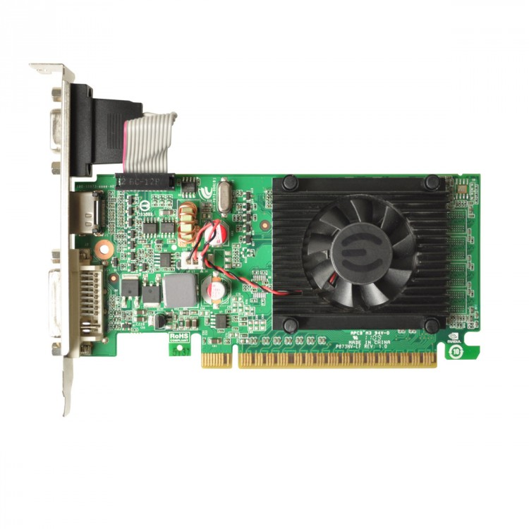 Placa video EVGA GeForce GT210, 512MB DDR3, 32-Bit, HDMI, DVI, VGA