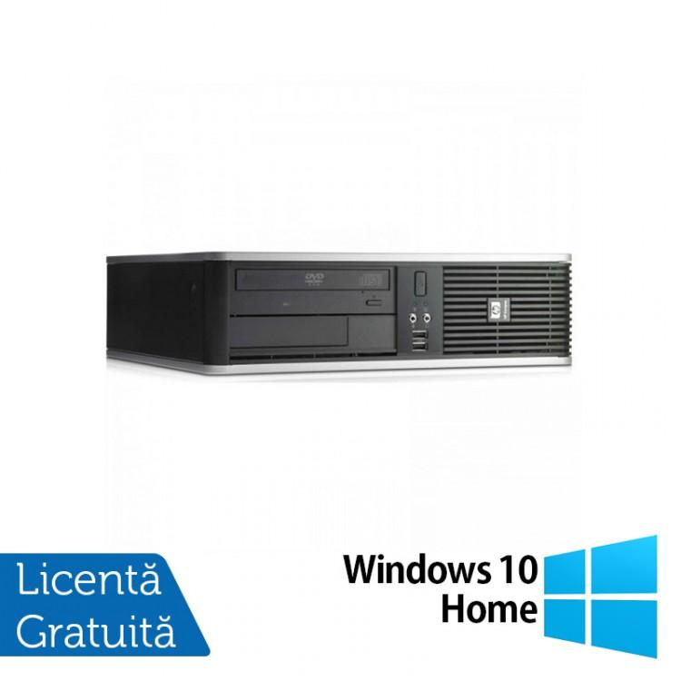 Calculator HP DC7900 SFF, Intel Core 2 Duo E8400 3.00GHz, 2GB DDR3, 320GB SATA, DVD-ROM + Windows 10 Home