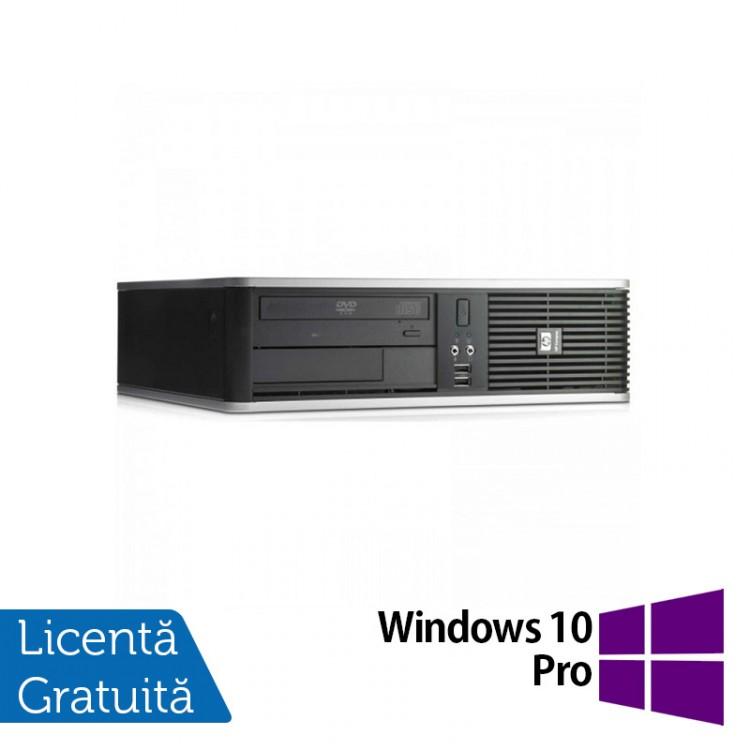 Calculator HP DC7900 SFF, Intel Core 2 Duo E8400 3.00GHz, 2GB DDR3, 320GB SATA, DVD-ROM + Windows 10 Pro