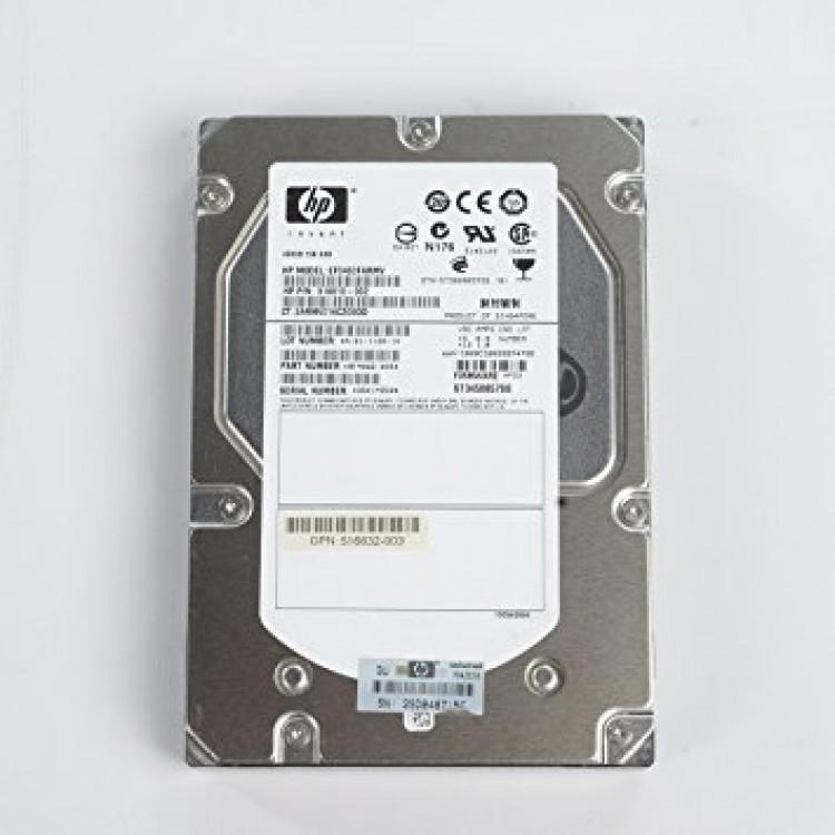 HP invent 300 gb 10000 rpm, model:BD3008A4C6
