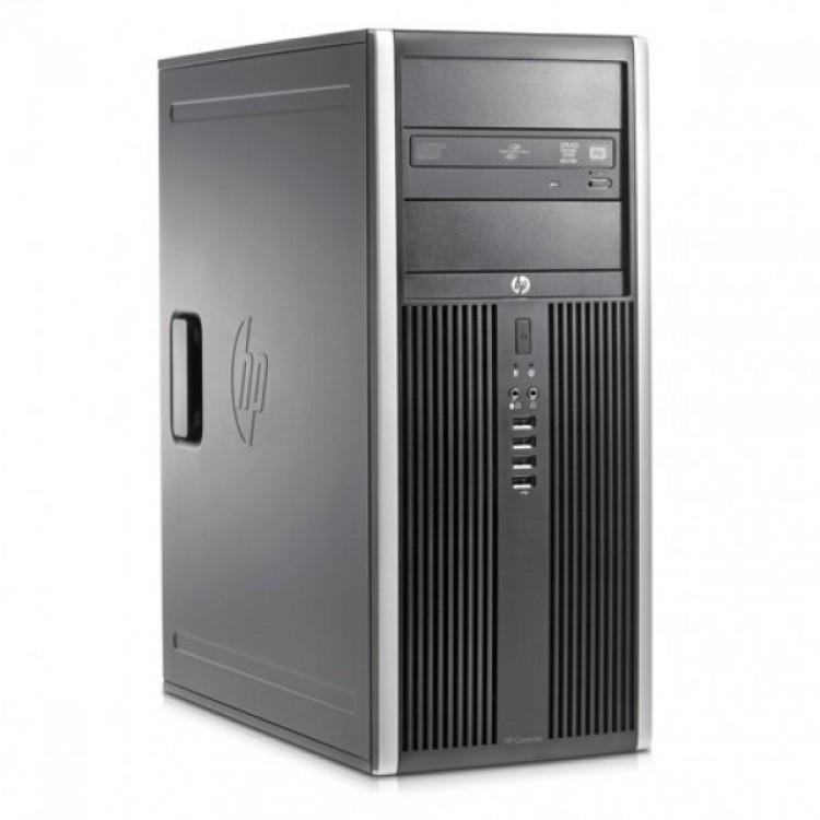 Calculator HP 8300 Elite Tower, Intel Core 2 Duo E7500 2.93 GHz, 4GB DDR3, 250GB SATA, DVD-ROM