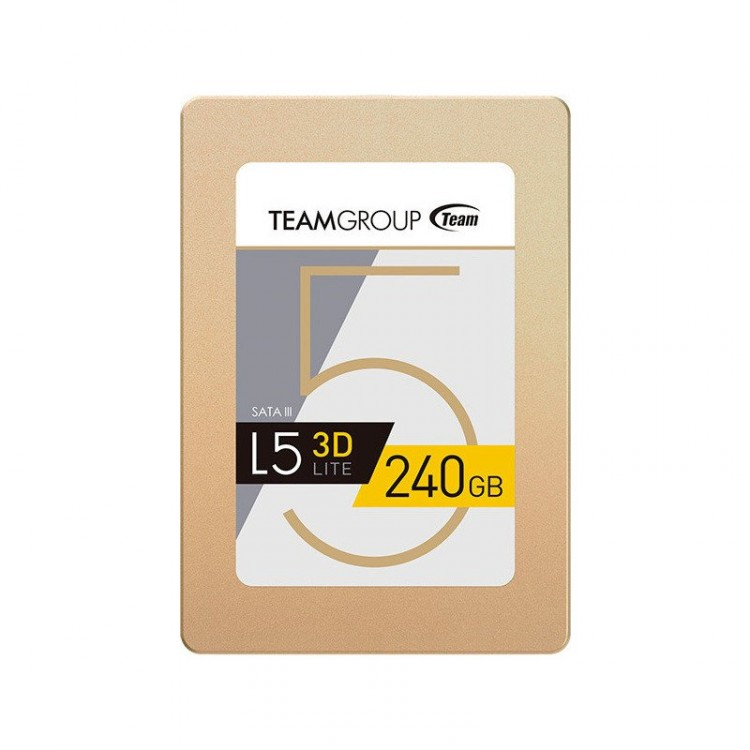 Team Group SSD L5 Lite 240GB 2.5'', SATA III 6GB/s, 530/400 MB/s