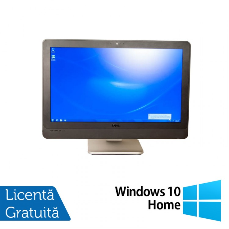 All In One DELL 9010 23 inch, Intel Core i5-3470s 2.90GHz, 4GB DDR3, 250GB SATA, DVD-RW + Windows 10 Home