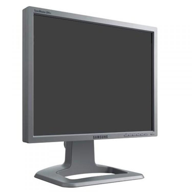 Monitor SAMSUNG 204T LCD 20 Inch, 1600 x 1200, VGA, DVI