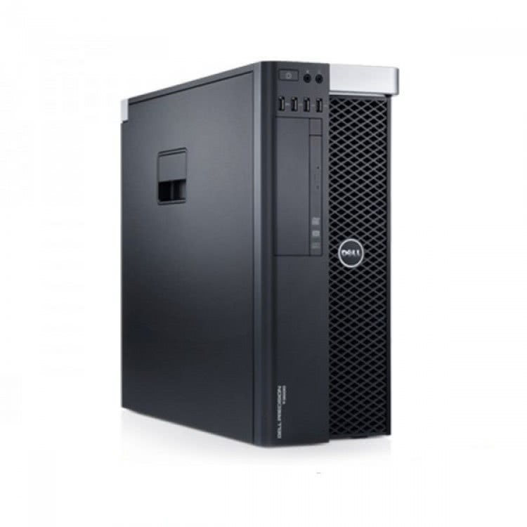 Workstation DELL Precision T3610 Intel Xeon Hexa Core E5-2620 V2 2.10GHz-2.60 GHz 15MB Cache, 32GB DDR3 ECC, 120GB SSD + 1TB HDD SATA, Placa Video Nvidia Quadro 4000 2GB/256biti
