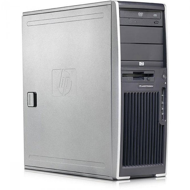 Workstation HP XW4300, Intel Pentium D 940 3.20 GHz, 250GB SATA, 4GB DDR2, Placa video Quadro FX 3450/256MB, DVD-ROM