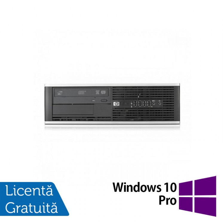 Calculator HP Compaq 6300 Pro SFF, Intel Core i3-3220 3.30 GHz, 4GB DDR3, 250GB SATA, DVD-RW + Windows 10 Pro
