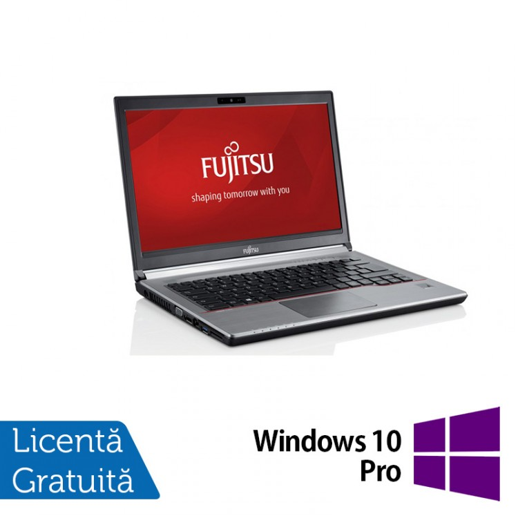Laptop FUJITSU SIEMENS Lifebook E734, Intel Core i5-4200M 2.50GHz, 8GB DDR3, 120GB SSD, 13.3 Inch + Windows 10 Pro