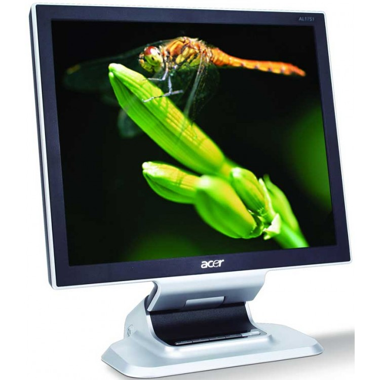 Monitor Acer AL1951 LCD, 19 Inch, 1280 x 1024, VGA, DVI, Difuzoare integrate