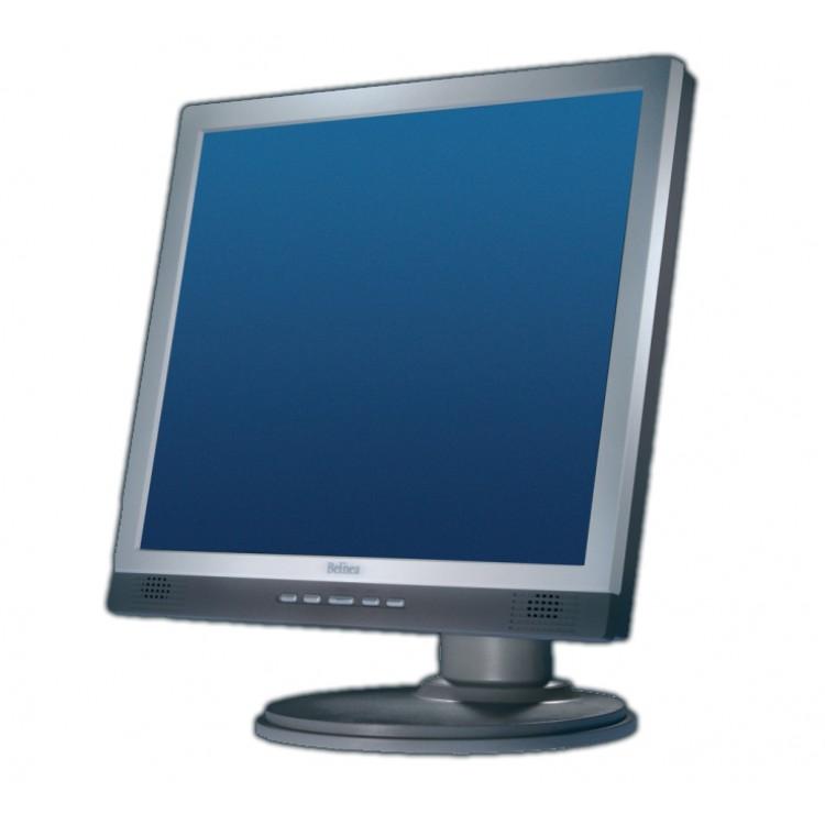 Monitor BELINEA 1980S1 LCD, 19 Inch, 1280 x 1024, VGA, DVI, Boxe Integrate