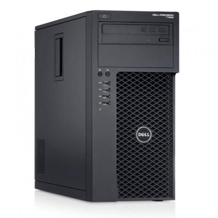 Workstation Dell Precision T1700, Intel Xeon Quad Core E3-1271 V3 3.60GHz - 4.00GHz, 8GB DDR3, 120GB SSD + 500GB SATA, nVidia GT605/1GB, DVD-RW