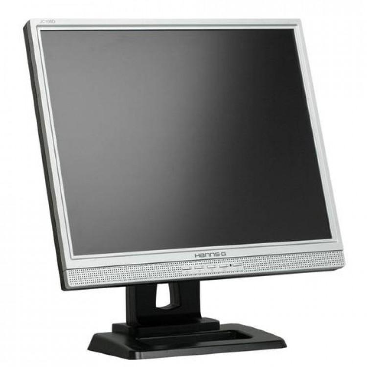 Monitor HANNS.G JC198D LCD, 19 Inch, 1280 x 1024, VGA, DVI, Boxe integrate