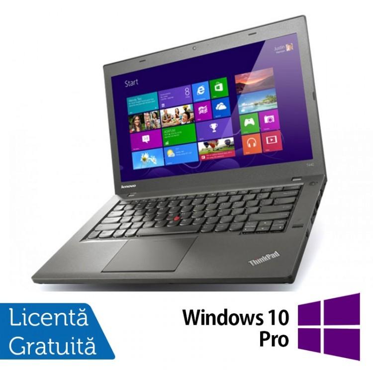 Laptop Lenovo ThinkPad T440s, Intel Core i5-4200U 1.60GHz, 4GB DDR3, 120GB SSD, 14 Inch + Windows 10 Pro