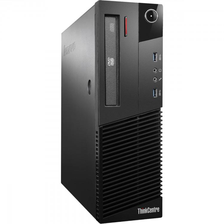 Calculator Lenovo Thinkcentre M93p SFF, Intel Core i3-3220 3.20GHz, 4GB DDR3, 250GB SATA, DVD-ROM