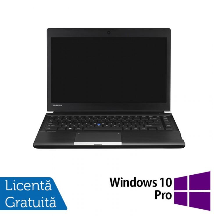Laptop Toshiba Portege R30, Intel Core i5-4310M 2.70GHz, 4GB DDR3, 250GB SATA, 13 Inch + Windows 10 Pro