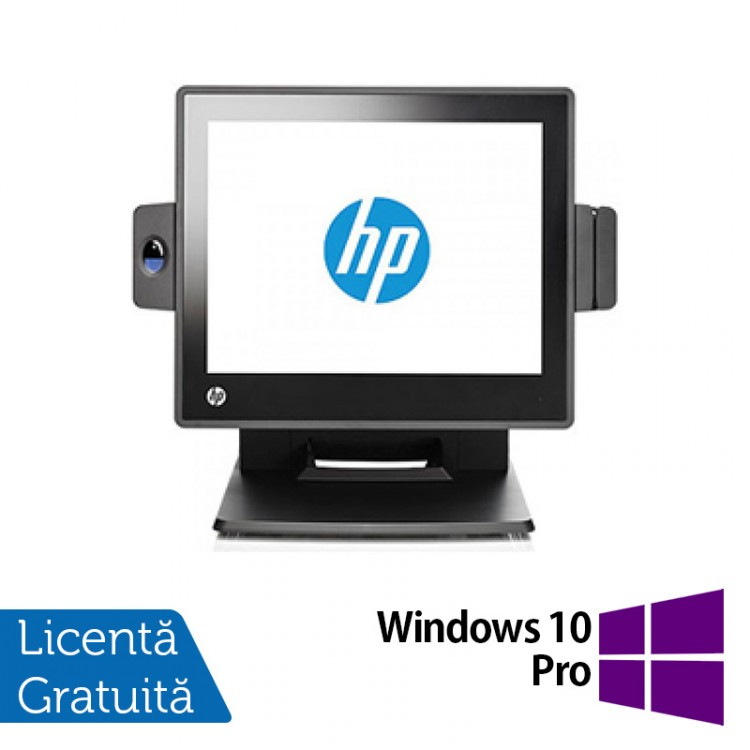 Sistem POS HP RP7 7800, Procesor Intel G540 2.50GHz, 2GB DDR3, 320GB SATA + Windows 10 Pro