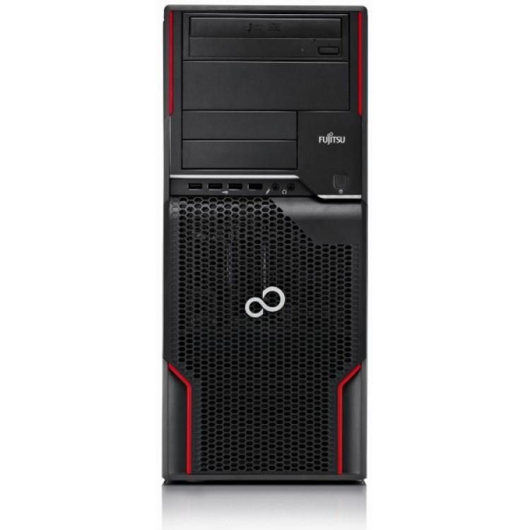 Workstation FUJITSU CELSIUS W510, Intel Core i5-2400S 2.5GHz, 4GB DDR3, 320GB SATA, DVD-ROM